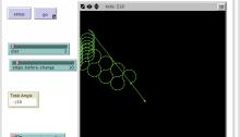 Screenshot of NetLogo
