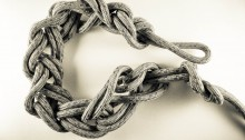 Photo of knotted rope